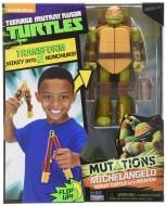 Tartarughe Ninja Michelangelo con Trasformazione in arma TUM01101 di Giochi Preziosi