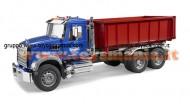 Bruder 02822  MACK Granite camion container ribaltabile [ cod 02822 ]