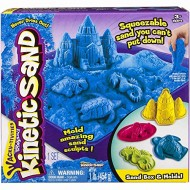 Kinetic Sand - Set Sabbia Modellabile - Blu - CON VASCHETTA