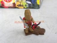 !!! DEVI FINIRE LA COLLEZIONE GIOCATTOLI MINIOMINI !!!! PERSONAGGIO OMINI O - MINI PERSONAGGIO IL CAVAGLIERE D'ORO  ,GIOCATTOLO COMPATIBILE CON LEGO COD 404010