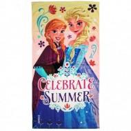 Frozen e Elsa  - Telo da Mare 70x140 originale