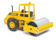 Bruder livella asfalto giallo Schiacciasassi 02423