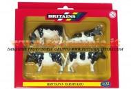 BRITAINS ACCESSORI PER MODELLISMO AGRICOLO ANIMALI SET BOVINI  SCALA 1/32 COD 40961