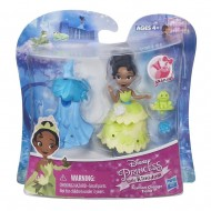 DISNEY PRINCESS SMALL DOLL & FASHION TIANA B5329-B5327 DI HASBRO