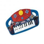 Piano grande  Spiderman, tastiera funzionante a batteria