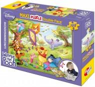 Puzzle Df Supermaxi 108 Winnie The Pooh di Lisciani 31641 double- face
