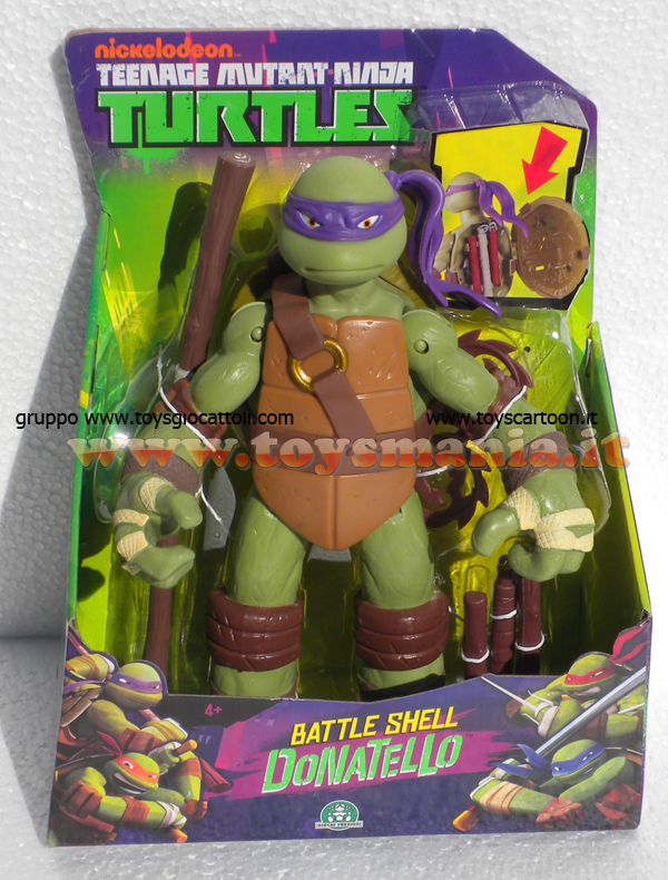 Turtles toys tartarughe ninja giganti 30 cm donatello cod for Prezzo tartarughe