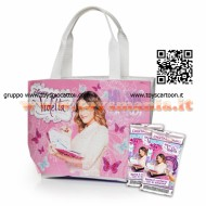 BORSETTA COLLECTOR TC VIOLETTA CON 2 BUSTINE DIGITAL CARD COD NCR 02238