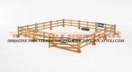 Bruder 62604 novità bworld Recinzione cavalli (marrone) [ cod 62602 ]