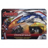 MOTO E JET DI CAPITAN AMERICA AVENGERS AGE OF ULTRON PLAYSET CYCLE BLAST QUINJET B0425EU40 AGE OF ULTRON CYCLE BLAST QUINJET VEHICLE