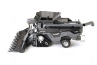 Ros trebbia Fendt Ideal T9 Agco con cingoli black edition 2 barre incluse trebbia scala 1/32 - 1-32
