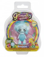 Giochi Preziosi - Glimmies Rainbow Friends Blister Singolo, Bunnybeth