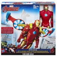 Marvel Avengers Personaggi 30cm c/Veicolo Iron Man B5776- B6156 di Hasbro