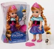 Disney, Frozen - Il Regno di Ghiaccio - Giovane Anna e  Olaf