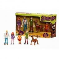 Scooby-Doo Mystery playset composta da Scooby-Doo, Shaggy, Fred, Daphne, Velma