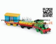 Thomas Mattel- PERCY BUMPY DELIVERY Veicoli Carico Speciale sogg.2 X7373 COD X7371