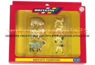 BRITAINS ACCESSORI PER MODELLISMO AGRICOLO ANIMALI SET PECORE SCALA 1/32 COD 40967