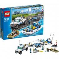 LEGO City Police 60045 - Gommone della Polizia
