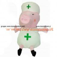 PEPPA PIG PELUCHE INFERMIERA CM 30 CIRCA