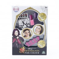 Descendants Set per Unghie Nail Color con Smalti ed Accessori Inclusi di Giochi Preziosi GPZ13065