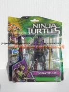 Nuovi personaggi tartarughe ninja tratto dal film in uscita a Settembre ! Personaggio Donatello cm 10 ninja turtles cod. 90850 Giochi Preziosi