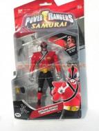 !!!!!POWER RANGERS!!!!!NOVITA' DELLA GIG POWER RANGERS SAMURAI , SAMURAI RANGERS TRASFORMABILI PERSONAGGIO Jayden Shiba Red samurai Ranger DELL FUOCO COD 31520