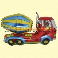 Grabo palloni camion con botte