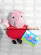 Peppa Pig Peluche Peppa Pig pupazzo Peppa Pig - Peppa Pig 33 cm circa cod 345/153 toys , BRINQUEDOS ,JUGUETES , JOUETS , giocattolo