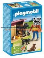 PLAYMOBIL 5125 CANE CON CUCCIOLI