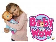 Bambola Baby Wow - 12 FUNZIONI E INTERAGISCE CON 10 COMANDI VOCALI - IMC Toys 94727IMIT ISTRUZIONI IN ITALIANO E MULTILINGUE