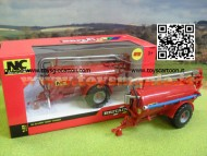 BRITAINS NC 2500 SLURRY TANKER ROAD SIDE 42892  SCALA 1/32 BOTTE SLURRY NC2500
