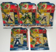 OFFERTA SERIE DRAGON BALL Z PERSONAGGI CELL, VEGETA SUPER SAIYAN ,GOHAN SUPER SAIYAN , GOKU SUPER SAIYAN , JUNIOR COD 1645/46