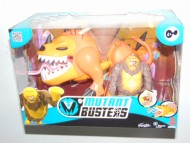 MUTANT BUSTERS TITANI MUTANTI Cyclop e Titan Orange