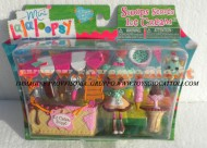 LALALOOPSY GIOCATTOLO NUOVISSIME LALALOOPSY MINI LALALOOPSY IN PLAYSET MODELLO SCOOP SERVES ICE CREAM CON SCOOP WAFFLE CANE COD GPZ 12176