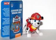 Paw Patrol Pup Amici 6 centimetri Gomma Marshall Figura 6023935
