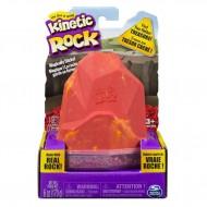 Kinetic Sand Rock 6036215 - Confezione Rosso Lava