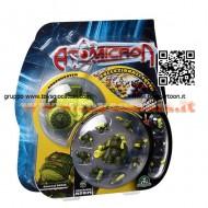 !!!! ATOMICRON ORIGINALI !!!! GIOCHI PREZIOSI ATOMICRON BATTLE PACK CON ARMA -ARSENICUS ATOMICRON ARSENICO ATOM GENERAL TOXIN- GPZ18306