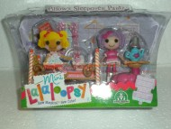 MINI !!!!! LALALOOPSY !!!! PLAYSET SET CAMERETTA PERSONAGGIO  PILLOW'S SLEEPOVER PARTY COD 01203
