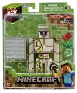 Minecraft 16511 Overworld Iron Golem Figura di Azione NCR16560