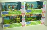 peppa pig offerta serie completa 4 pezzi -Peppa Pig's Fun Play Set, altalena Peppa Pig & George Figures ,IL DONDOLO  IL PARCO DIVERTIMENTO  IL PARCO GIOCHI, LA FUNE GIOCATTOLO PEPPA PIG, IL PARCO GIOCHI CON CHIVOLO