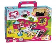 Pet Parade Playset Playworld con Cucciolo Esclusivo di Giochi Preziosi 18546