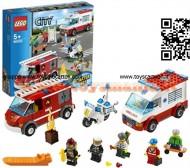 LEGO 60023 CITY® City Starter Set AMBULANZA E POMPIERI City startset - 60023