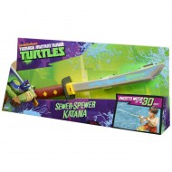 NUOVO MODELLO Teenage Mutant Ninja Turtles Sewer-Spewer Katana SPARA ACQUA