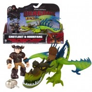 Dragons Trainer Race Of The Edge figura SNOTLOUT E HOOKFANG 66954-2