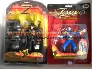 Zorro offerta 2 pezzi personaggio ALL'ASSALTO BARILI CON DINAMITE e IL PERFIDO RAMON in esaurimento