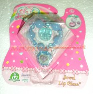 !!!! JEWELPET !!!!! JEWEL LIP GLOSS !!!! BRACCIALETTO COLORE , BLU , AZZURRO CON JEWELPET E 1 LIP GLOSS COD 12243