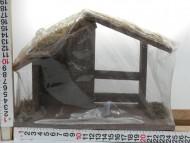 Presepe Capanna dimensioni 18 x 25 cm cod 158