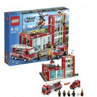 LEGO City Fire 60004 - Caserma dei Pompieri