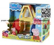 Peppa Pig Weebles Wind & Wobble Playhouse Con esclusive Muddy pozzanghere ( la pozzanghera fangosa )e Peppa Pig Weebles cod ch 05120