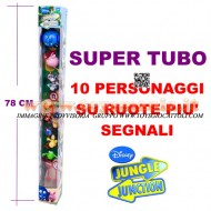 Tubo Personaggi 1 Tubo Famosa Disney Jungle Junction In Giro Per La Giungla